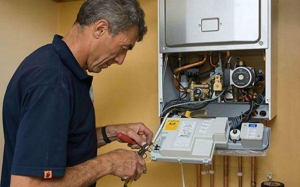 Как установить термостат на
