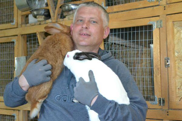 Клетки для комфортного разведения кроликов