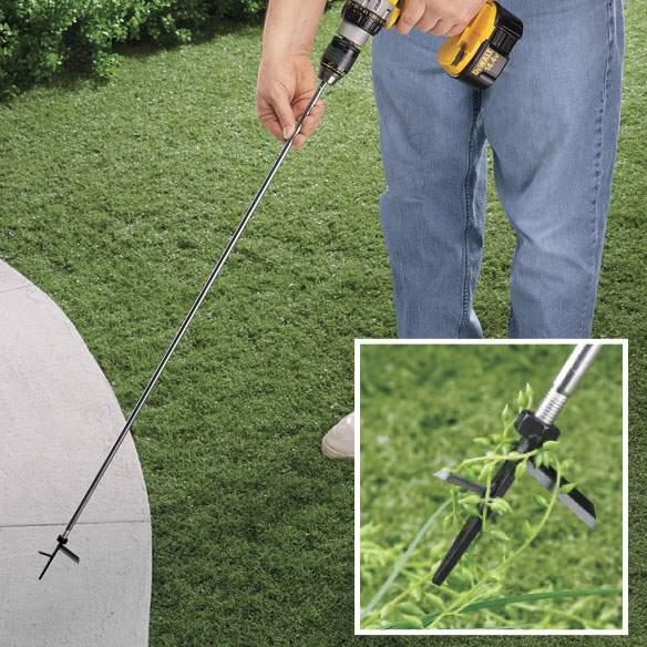 Новый инструмент для сада Weed Spinner