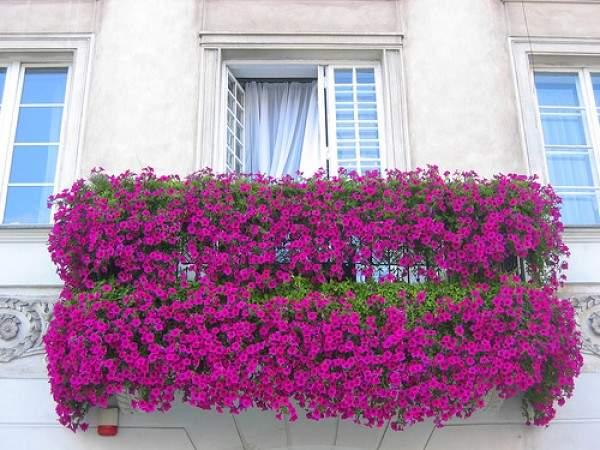 Украшение балкона