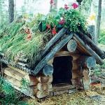 Собачий дом как украшение двора