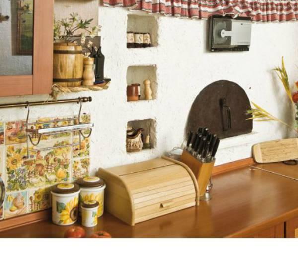 Дизайн кухни в украинском стиле