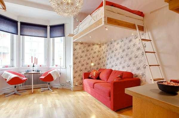 Крошечная квартира-студия