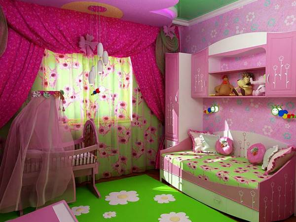 Спальня для девочки