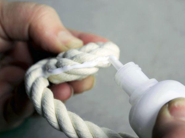 Ваза из веревки своими руками