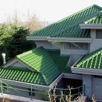Подбор цвета крыши