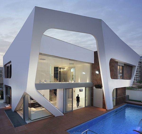 Стиль авангард в архитектуре