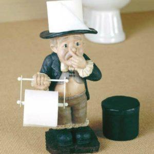 Необычные и забавные держатели для туалетной бумаги
