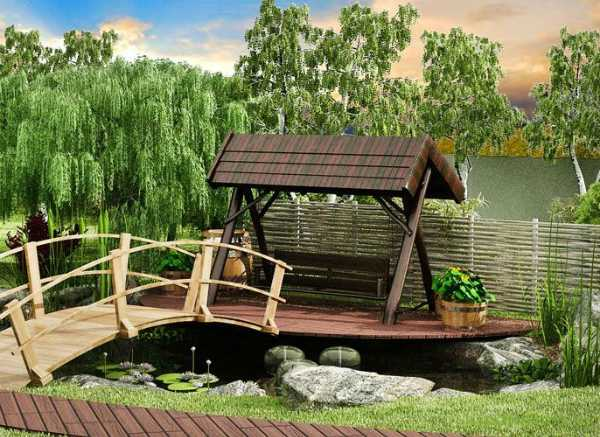 Сад в украинском стиле