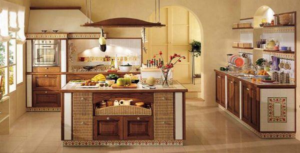 Современный украинский интерьер кухни