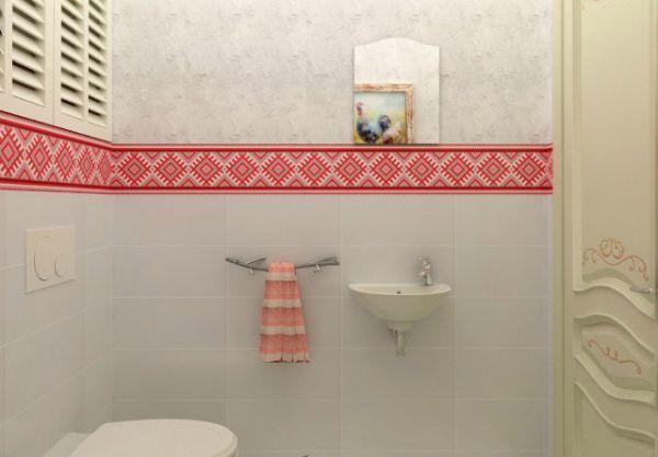 Современный украинский интерьер ванной