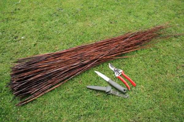 Плетение из натуральных материалов