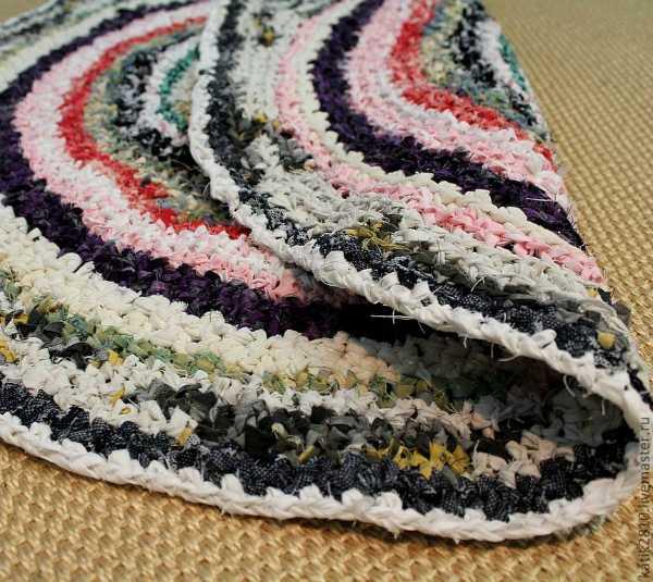 Бабушкин коврик своими руками