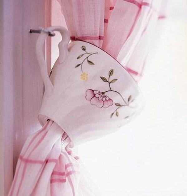 Оригинальные зажимы - держатели для штор своими руками