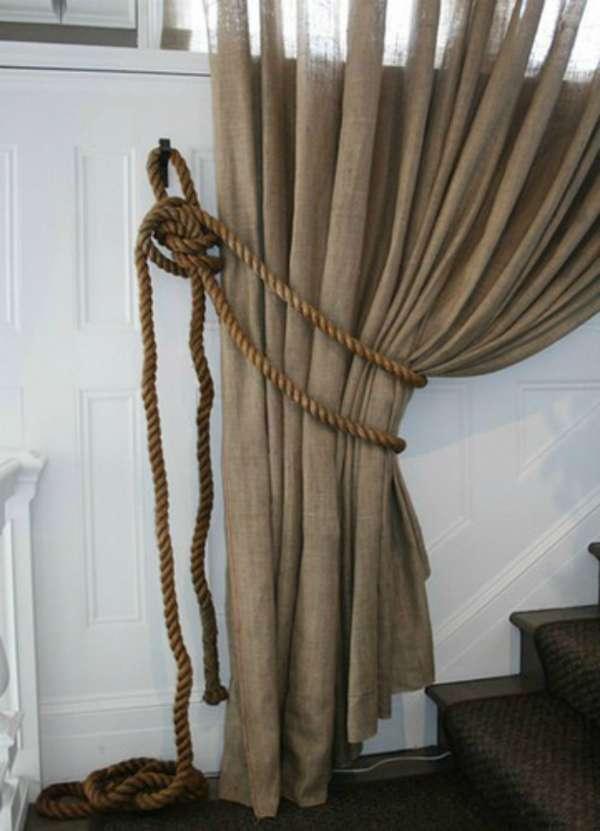 Зажим из веревки или каната