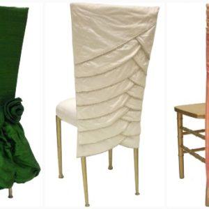Оригинальная одежда для стульев своими руками