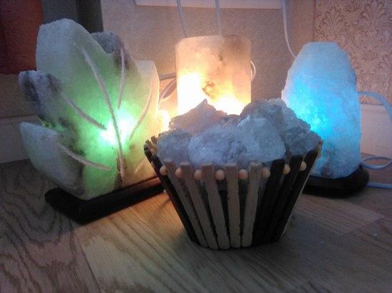 Солевые лампы: преимущества и полезные свойства