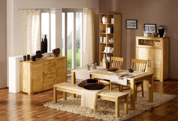 Где можно купить мебель из натурального дерева