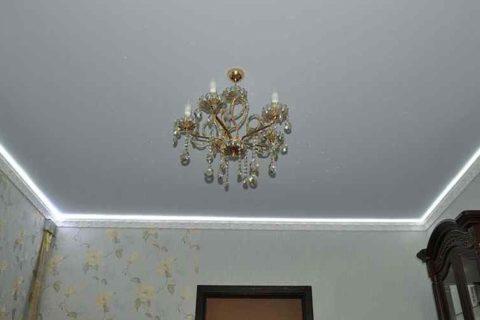 Разнообразие натяжных потолков. Матовые натяжные потолки в Волгограде и области
