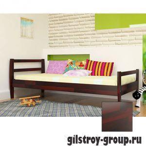 Кровать ЧДК Алиса, 90х190 см, махонь