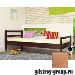 Кровать ЧДК Алиса, 90х190 см, ольха