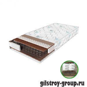 Ортопедический матрас Sleep&Fly Classic Plus Kokos, 200x180, пружинный блок