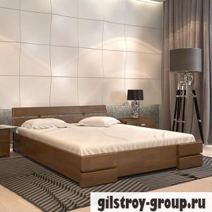 Кровать Arbor Drev Дали 180х190 см, сосна, орех