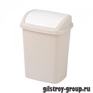 Ведро для мусора Curver Dominik 176504, 10 л, бежевое