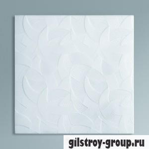 Экструзионная потолочная плита Лагом 2902, белая, 4 шт., кв.м.
