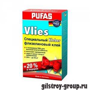 Клей для флизелиновых обоев PUFAS EURO 3000 Vlies, 200 гр+20%