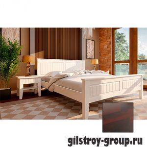 Кровать ЧДК Глория с низким изножьем, 160х200 см, махонь