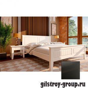 Кровать ЧДК Глория с низким изножьем, 160х200 см, венге
