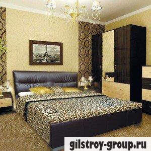 Кровать Novelty Камелия 140х200 см, кожзам Boom 01