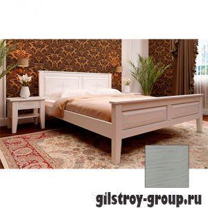 Кровать ЧДК Майя с низким изножьем, 160х200 см, масло слоновая кость