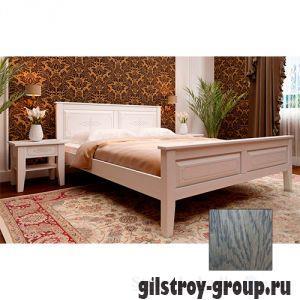 Кровать ЧДК Майя с низким изножьем, 160х200 см, масло венге