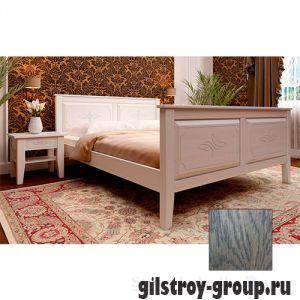 Кровать ЧДК Майя с высоким изножьем, 160х200 см, масло венге