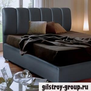 Кровать Novelty Олимп 140х200 см, кожзам Boom 20