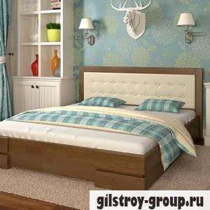 Кровать Arbor Drev Регина 160х200 см, бук, орех
