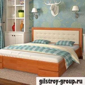Кровать Arbor Drev Регина 160х200 см, бук, ольха