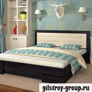 Кровать Arbor Drev Регина 160х200 см, бук, венге