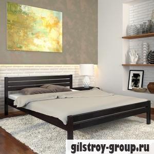 Кровать Arbor Drev Роял 160х190 см, сосна, венге