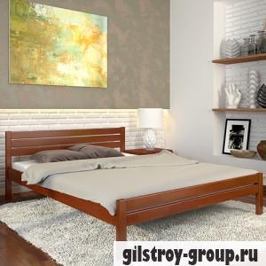 Кровать Arbor Drev Роял 160х190 см, сосна, яблоня локарно