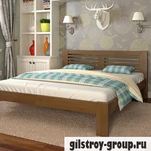 Кровать Arbor Drev Шопен 160х200 см, сосна, орех