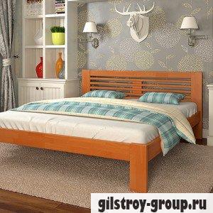 Кровать Arbor Drev Соната 160х190 см, бук, ольха