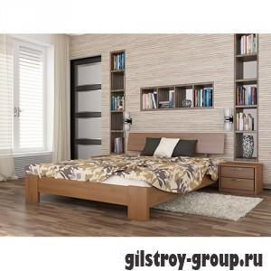 Кровать Эстелла Титан, 120х200 см, щит бук, 105 ольха