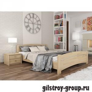 Кровать Эстелла Венеция, 180х200 см, массив бук, 102 натуральный бук