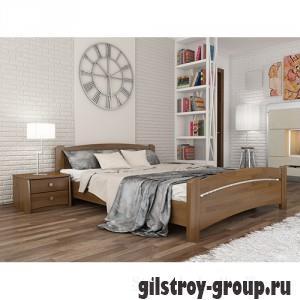 Кровать Эстелла Венеция, 180х200 см, массив бук, 103 светлый орех