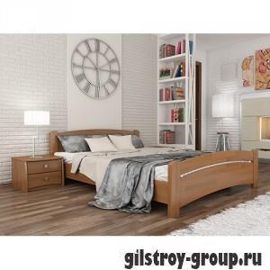 Кровать Эстелла Венеция, 180х200 см, массив бук, 105 ольха