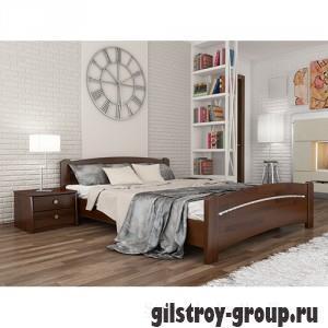 Кровать Эстелла Венеция, 180х200 см, массив бук, 108 каштан