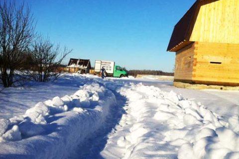 Перевозка вещей на дачу в Ленинградской области